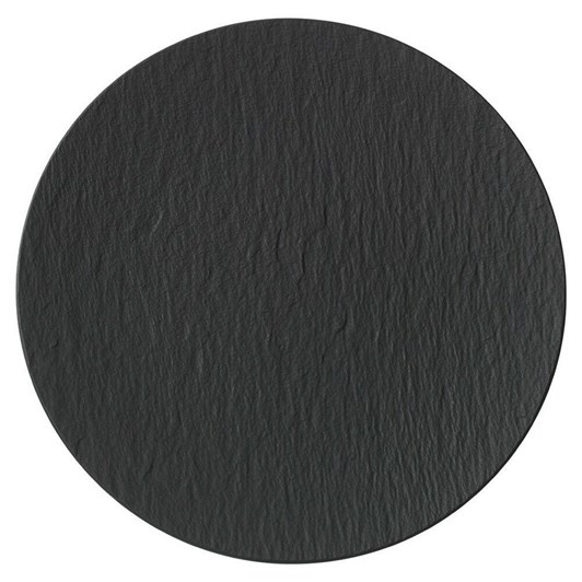 Villeroy & Boch Manufacture Rock Gourmet Plate Black 31cm