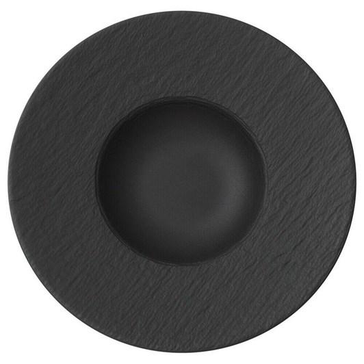 Villeroy & Boch Manufacture Rock Pasta Plate Black 28cm