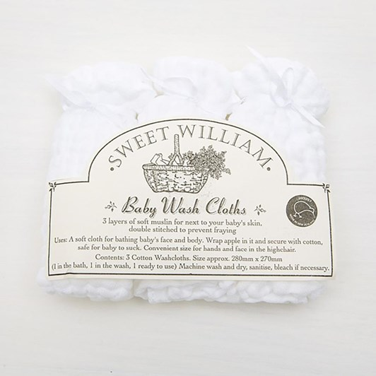 Sweet William Washcloths