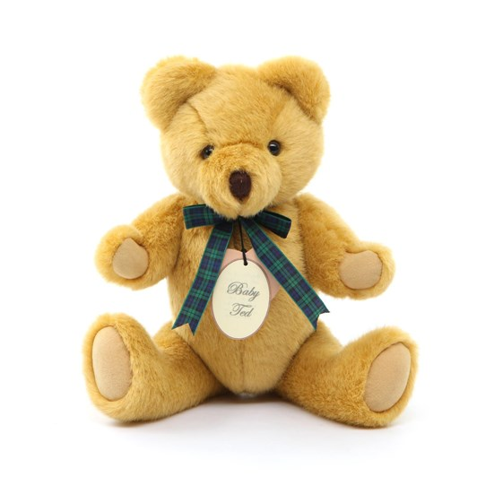 Bear with Us Gold Plush Baby Ted