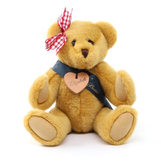 Bear With Us Gold Plush Musical Elizabeth Bear