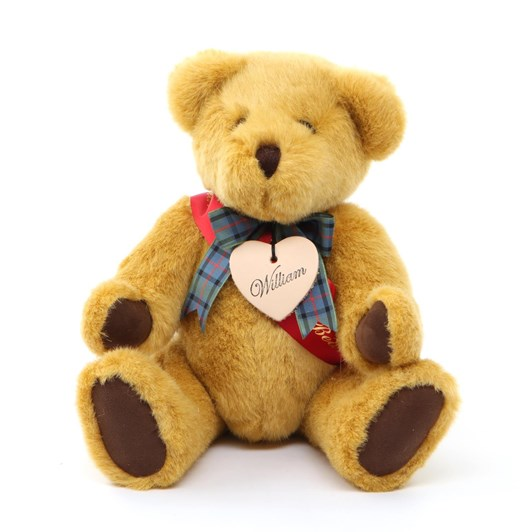 Bear With Us Gold Plush Small William Growler Bear