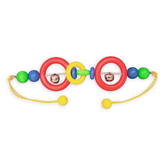 Gepetto Two Bell Pram Rattle