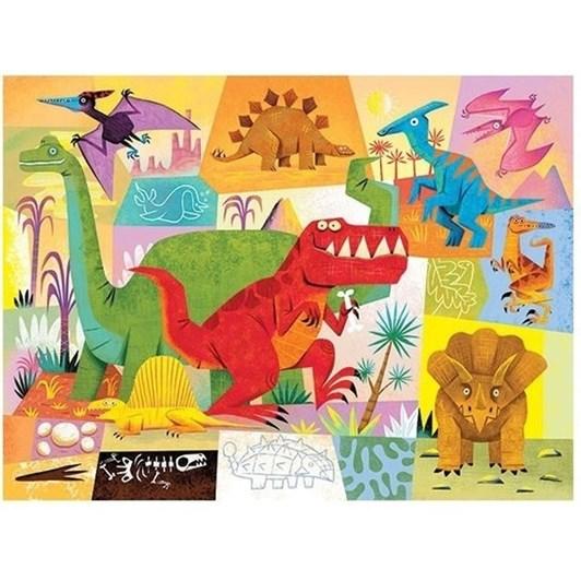 Croc Creek Mini Puzzle Dinosaur 24pc
