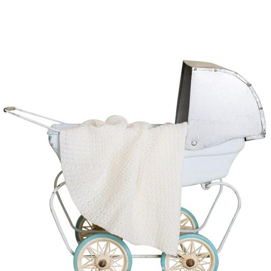 Tudor Knits Circular Baby Shawl