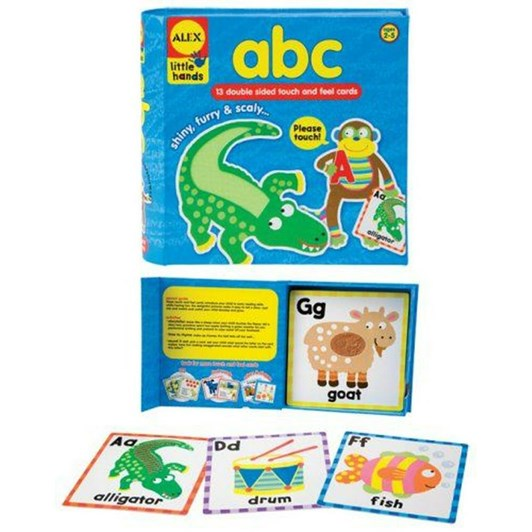 Little Hands Touch & Feel Cards - Abc