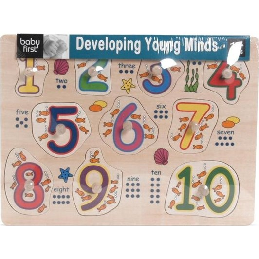 Baby First Number Peg Puzzle