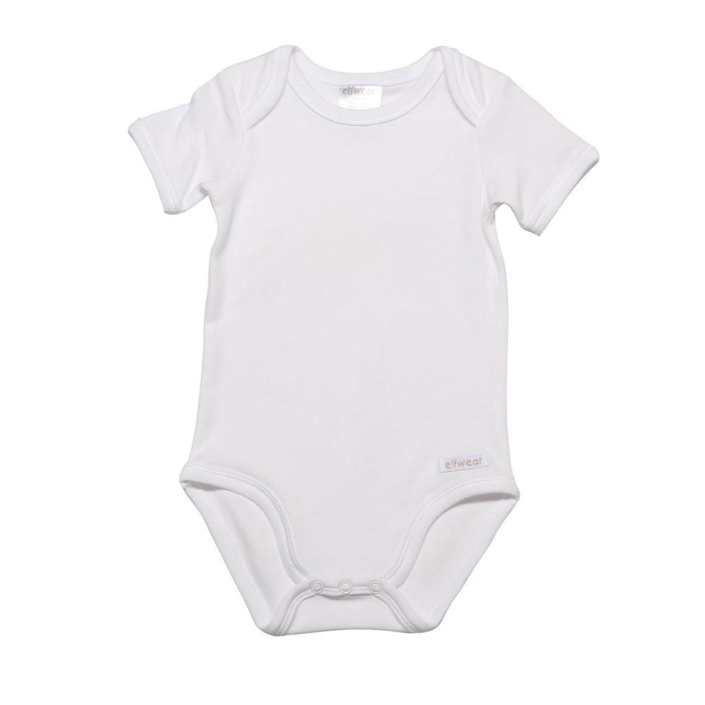 Elfwear S/S Bodysuit white
