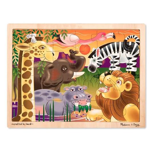 Melissa & Doug African Plains Jigsaw