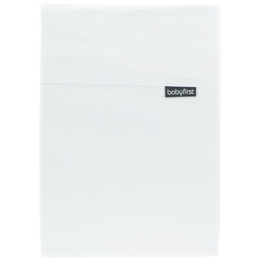 Baby First Cotton Cot Sheet Set - White