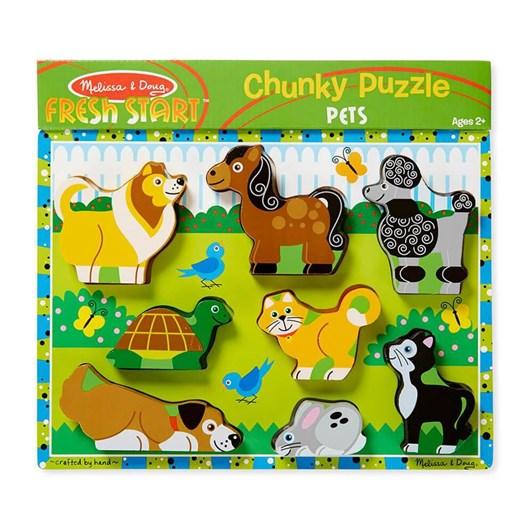 Melissa & Doug Chunky Pets Puzzle