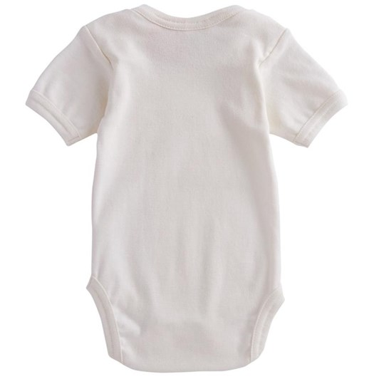Nature Baby Organic Cotton S/S Bodysuit