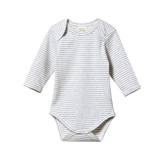 Nature Baby Organic Cotton L/S Bodysuit