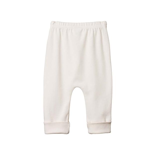 Nature Baby Organic Cotton Drawstring Pant - natural