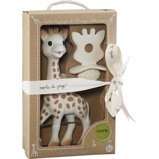 Sophie The Giraffe So Pure Natural Teether Set