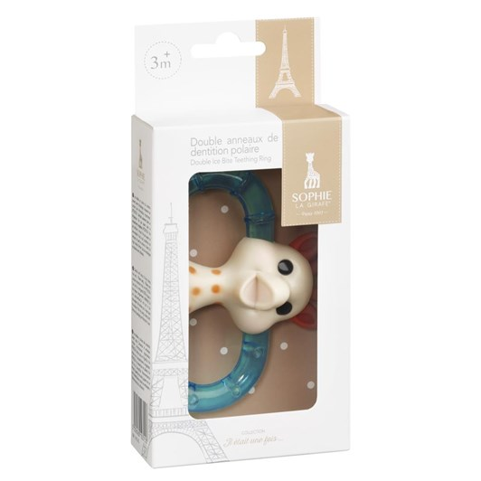 Sophie The Giraffe Double Ice Bite Teething Ring Gift Box
