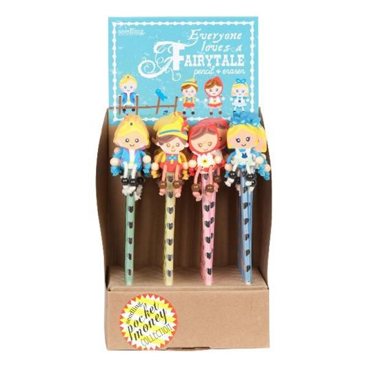 Seedling Fairytale Pencil & Eraser