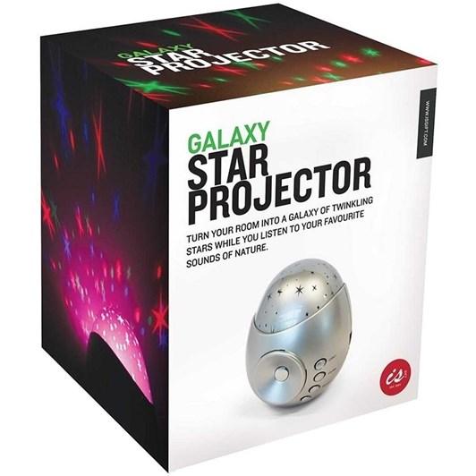 Independance Studio Galaxy Star Projector Sound Machine - Silver
