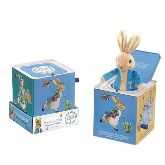 Peter Rabbit Musical Jack In Box