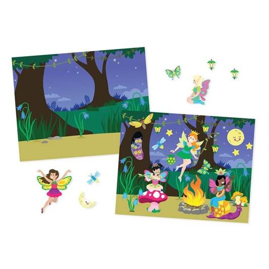 Melissa & Doug Reusable Sticker Pads - Fairies