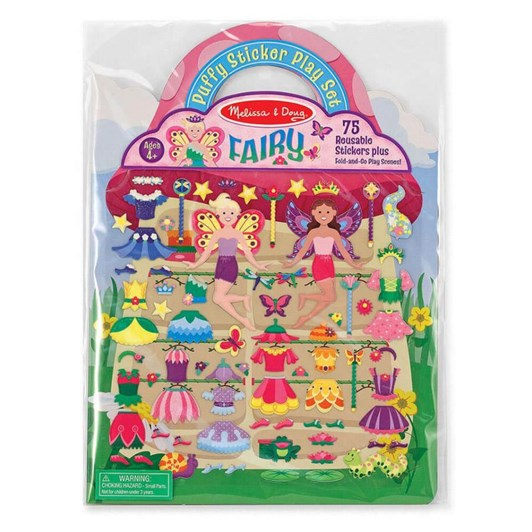 Melissa & Doug Puffy Stickers - Fairy
