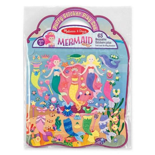 Melissa & Doug Puffy Stickers - Mermaid