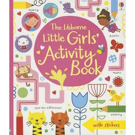 Little Girls Activity Book