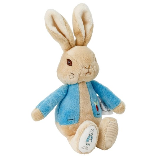 Peter Rabbit Silky Rattle - 19cm