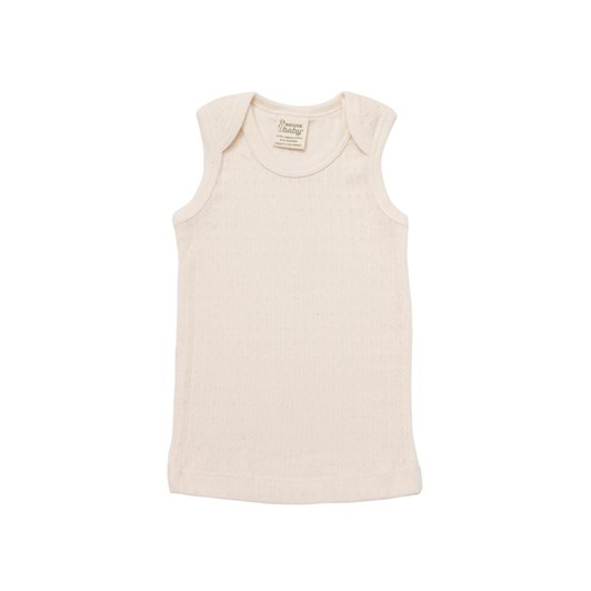 Nature Baby Pointelle Singlet