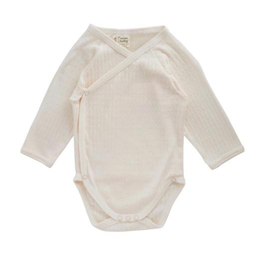 Nature Baby Pointelle Kimono Bodysuit
