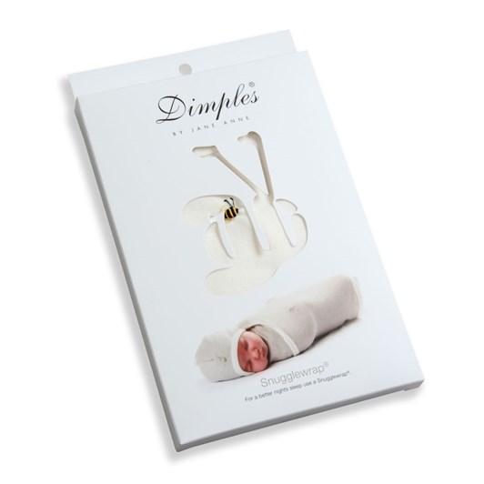 Dimples Merino Wool Snuggle Wrap - Classic Cream