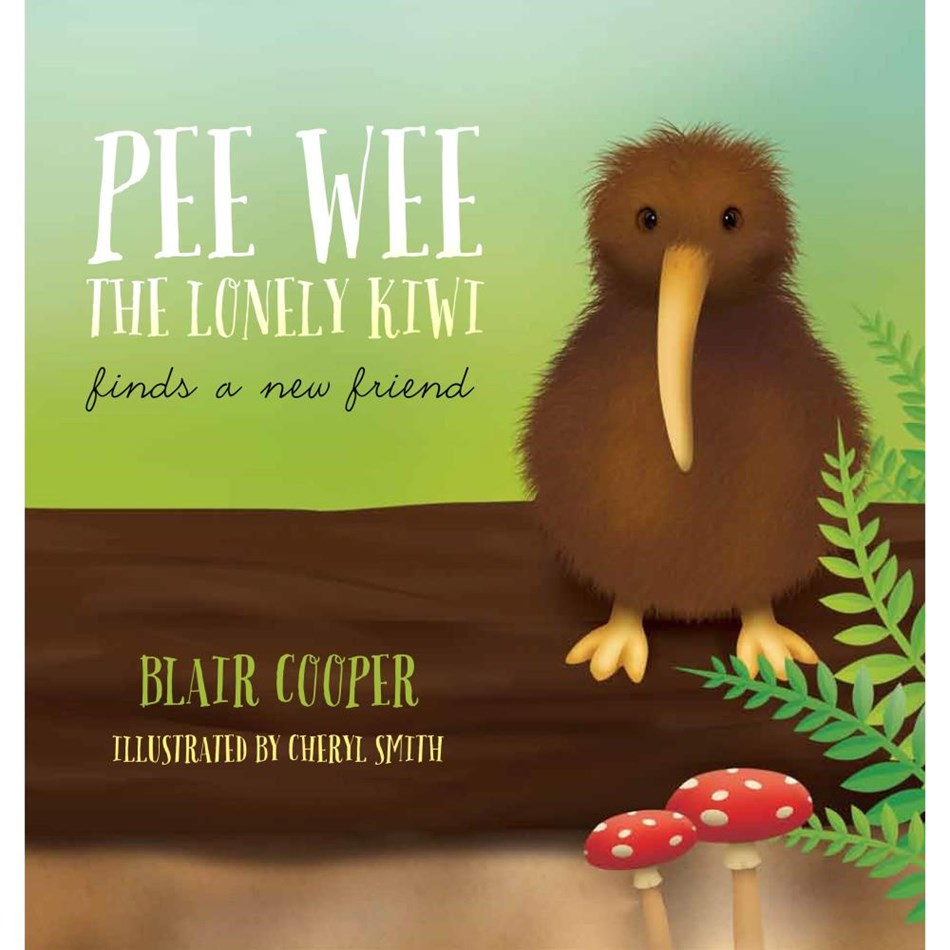 Pee Wee The Lonely Kiwi Finds A New Friend -