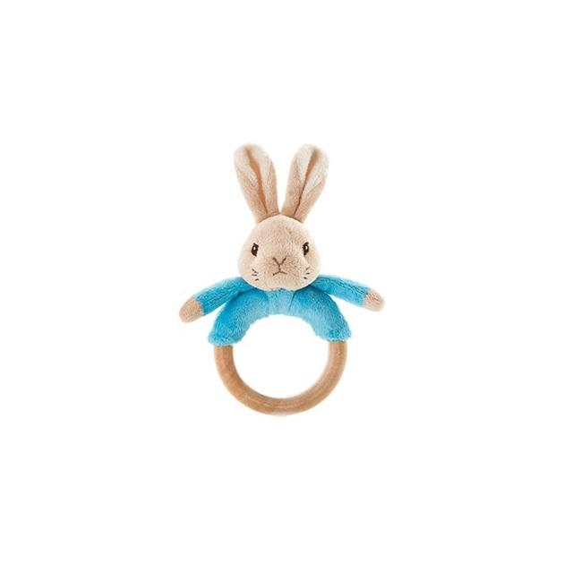 Peter Rabbit Bunny Ring Rattles -