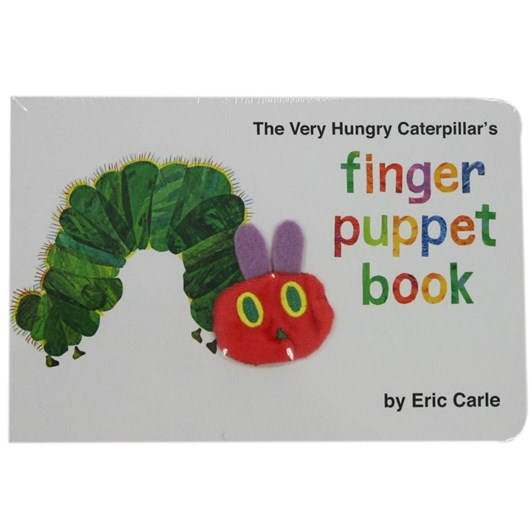 Very Hungry Caterpillar Finger Puppet Book