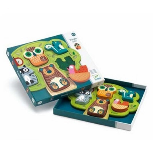 Djeco Wooden Puzzle - Oski
