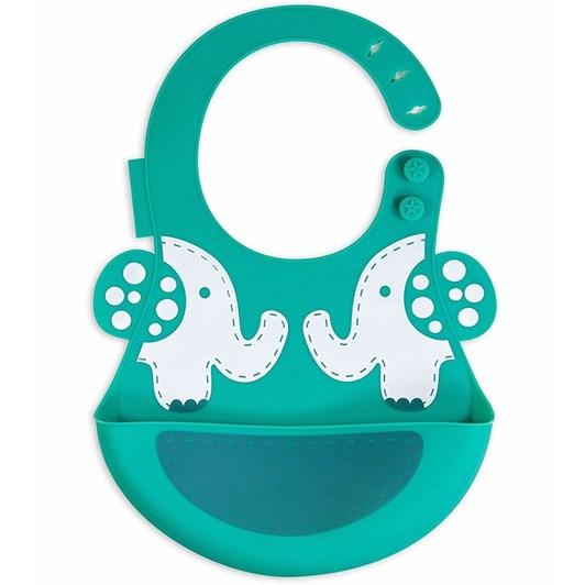 Marcus & Marcus  Baby Bib - Elephant