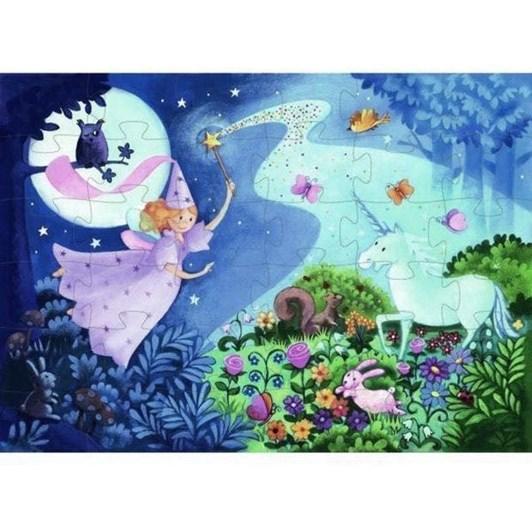Djeco Fairy Silhouette Puzzle