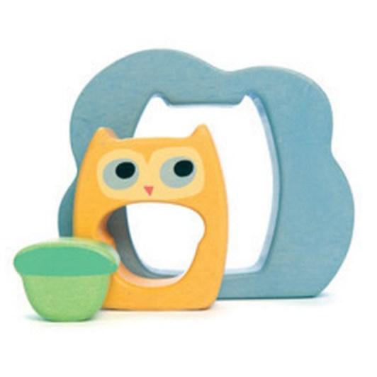 Le Toy Van Petilou Owly Woo Puzzle - 3pc