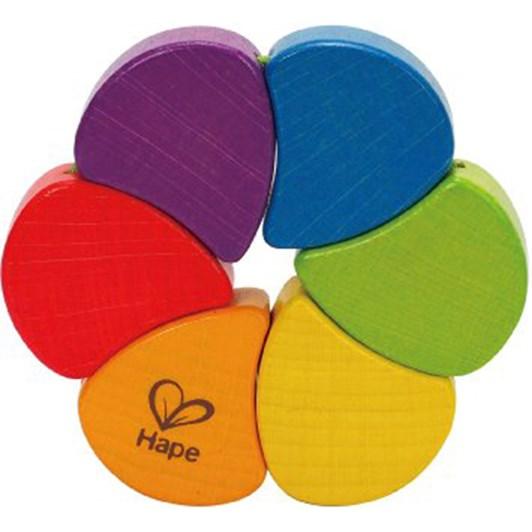 Hape Rainbow Rattle - Assorted
