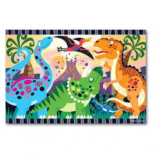Melissa & Doug Dinosaur Dawn Floor Puzzle 24P