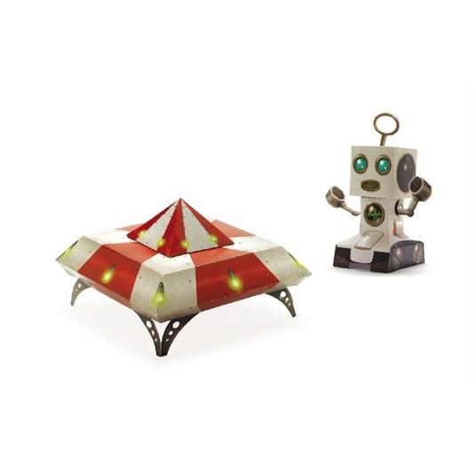 Djeco Paper Toys - Spacecraft