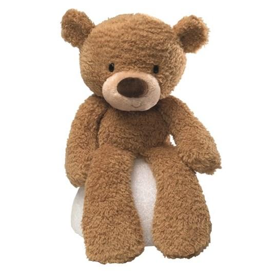 Gund Fuzzy Beige Bear 38Cm