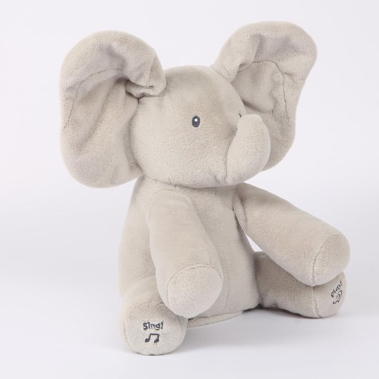Baby Gund Flappy Elephant Animated Plush 30.5Cm