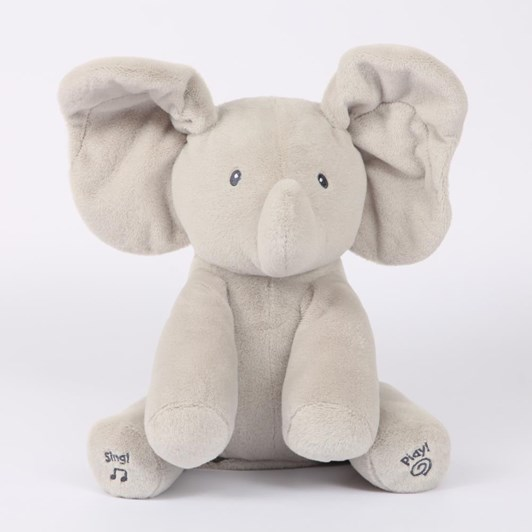 Baby Gund Flappy Elephant Animated Plush 30.5Cm