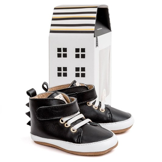 Pretty Brave Hi-Top Black Dragon Shoes