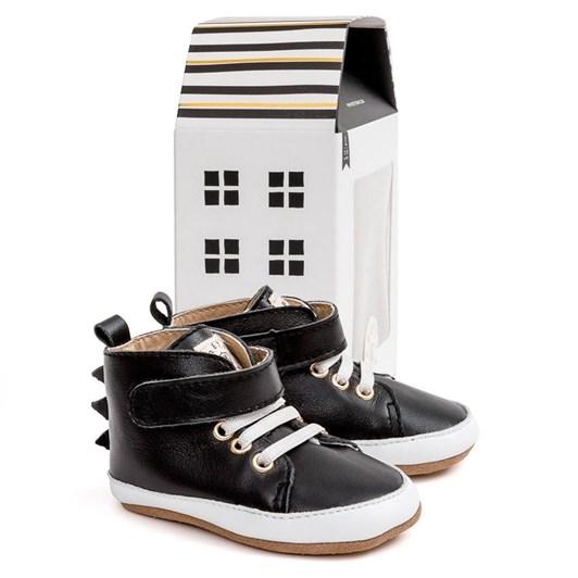 Pretty Brave Hi-Top Black Dragon Shoes