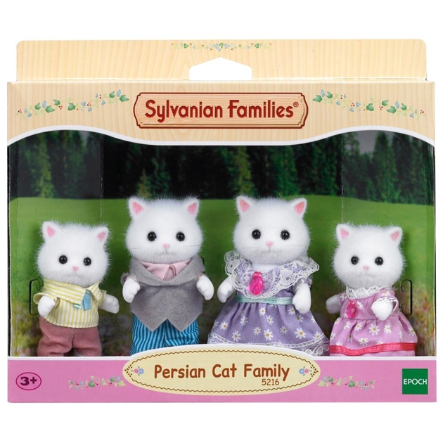 Sylvanian Families Persian Cat Family -