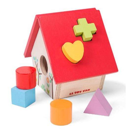 Le Toy Van Petilou Little Bird House Shape Sorter
