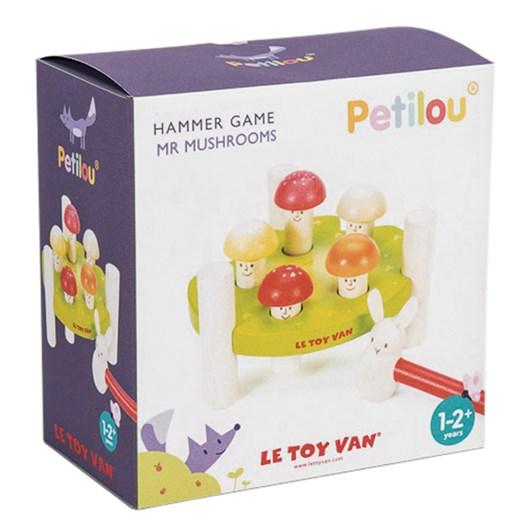 Le Toy Van Petilou Hammer Game Mr Mushroom
