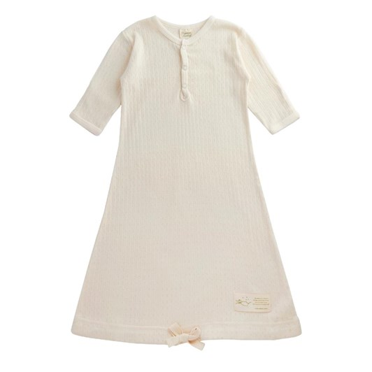 Nature Baby Gown Pointelle